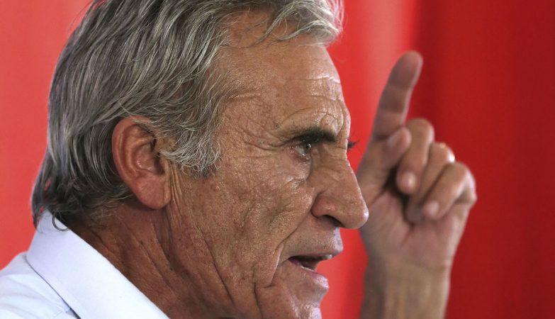 O secretário-geral do Partido Comunista Português (PCP) e líder da CDU, Jerónimo de Sousa