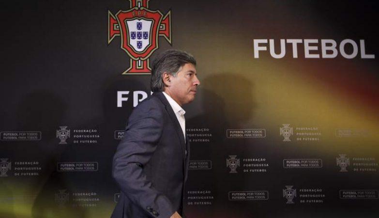 O presidente do Conselho de Arbitragem da FPF, Vítor Pereira