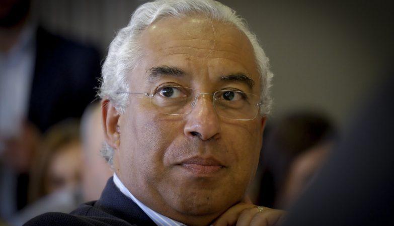 O líder do Partido Socialista, António Costa