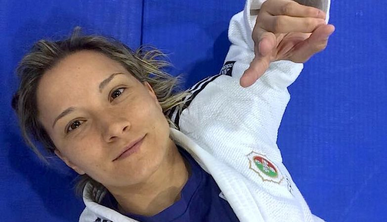 A judoca Telma Monteiro