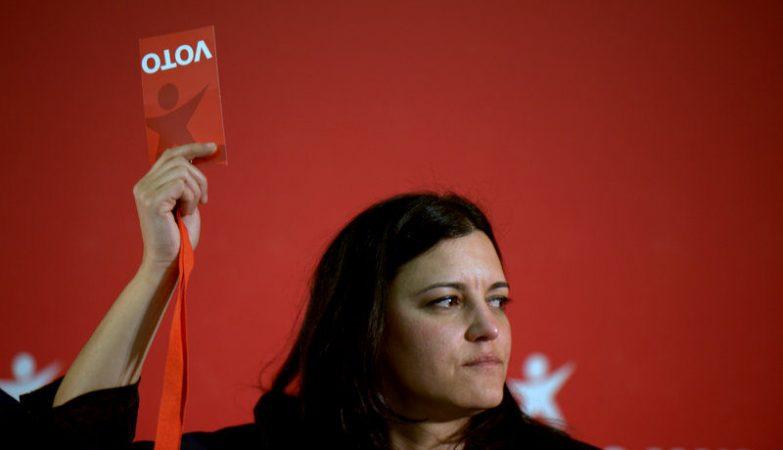 A eurodeputada Marisa Matias, do Bloco de Esquerda (BE)