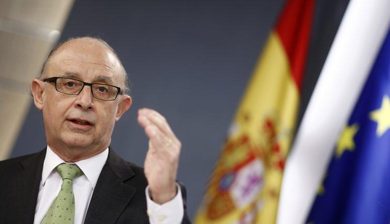 O ministro das Finanças espanhol, Cristóbal Montoro