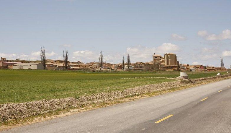 Vista de Castrillo Matajudíos, agora Castrillo Mota de Judíos