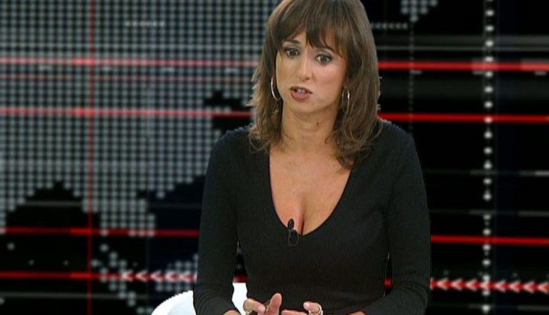 A jornalista Fernanda Câncio na TVI24