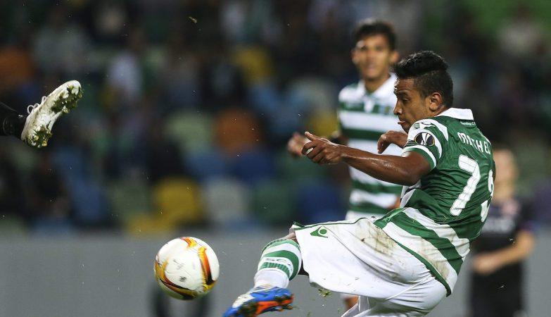 Depois do bis na Taça, Matheus Pereira marcou mais 2 golos