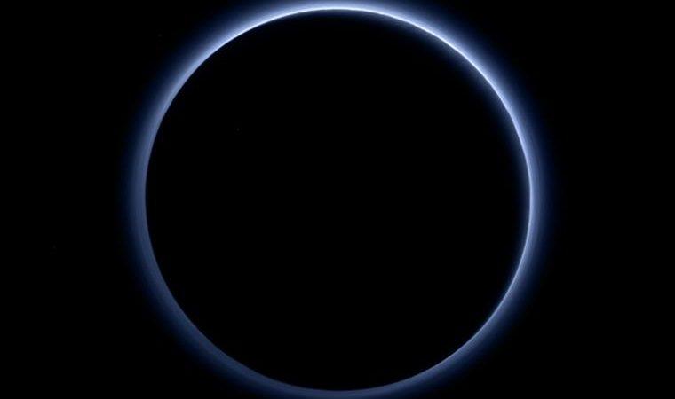 Os céus azuis de Plutão