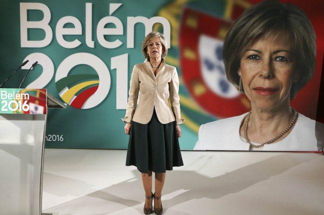 Maria de Belém apresenta candidatura à Presidência da República