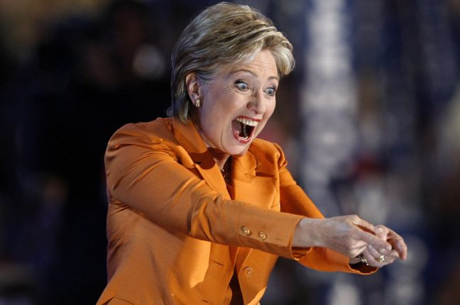 Hillary Clinton, ex-vice-presidente de Barack Obama, mulher do ex-presidente Bill Clinton