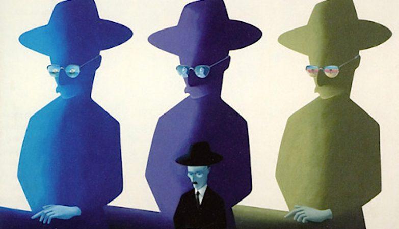 Fernando Pessoa - Heterónimo, 1978, óleo sobre tela de António Costa Pinheiro