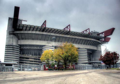 """Estádio Giuseppe Meazza """"San Siro"""", em Milão"""