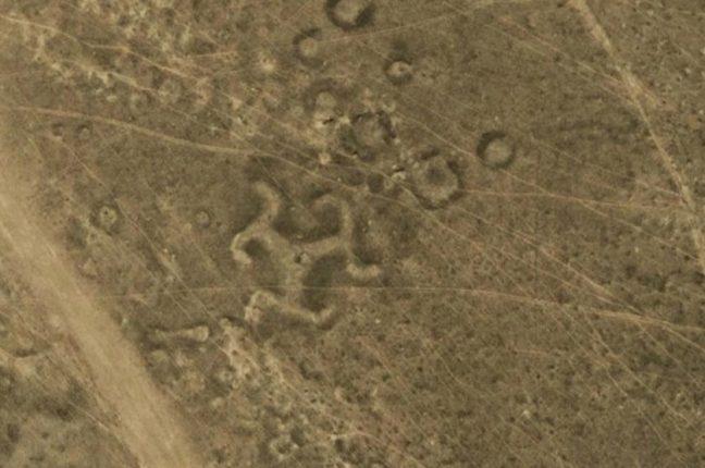 A Suástica de Turgai, outra das misteriosas estruturas cazaques