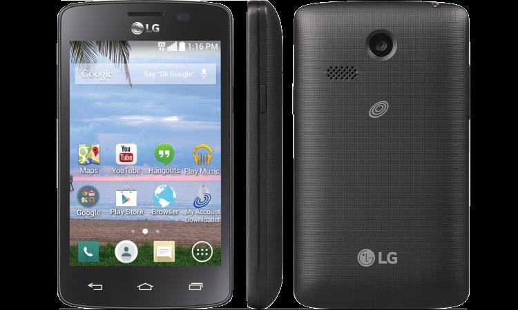 O smartphone Lucky LG16 à venda na Walmart por 10 dólares