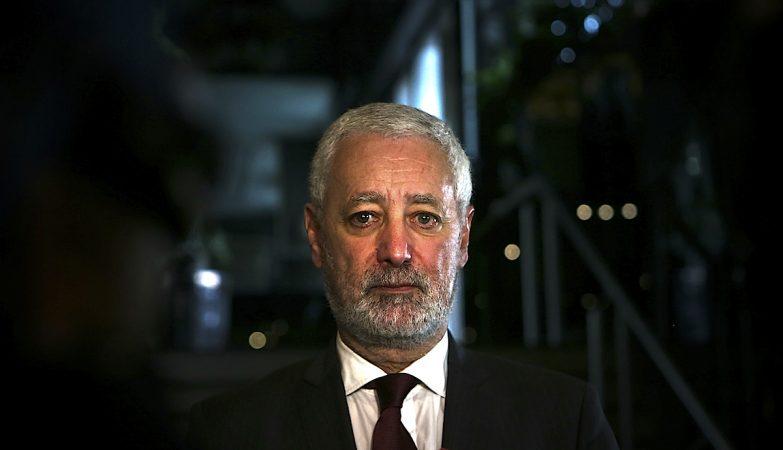 O candidato à Presidência da República, António Sampaio da Nóvoa