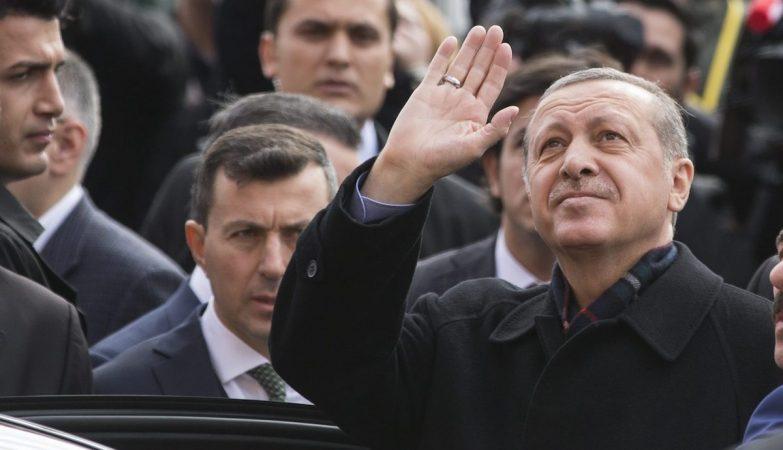 O presidente da Turquia, Recep Erdogan