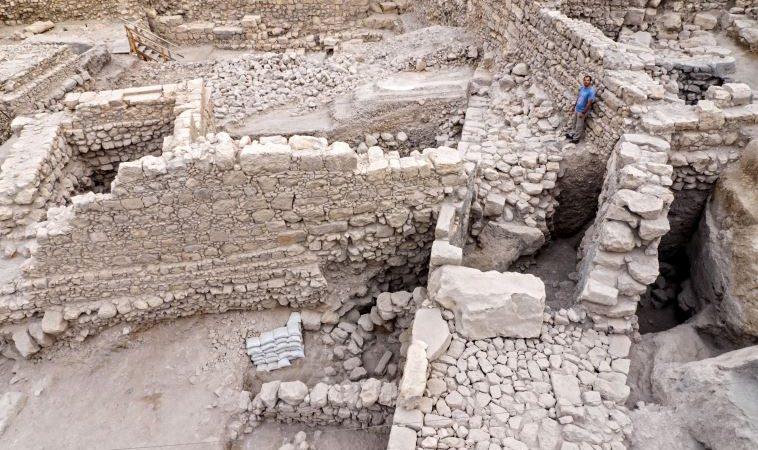 As ruínas da antiga citadela de Acra, encontradas em Jerusalém