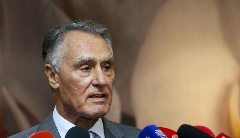 O Presidente da República de Portugal, Aníbal Cavaco Silva