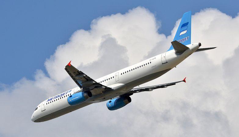 Airbus A321-231 da MetroJet / Kogalimavia