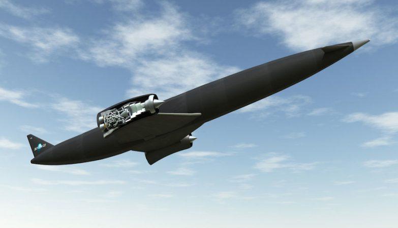 O avião Skylon, capaz de viajar para qualquer parte do mundo em apenas quatro horas