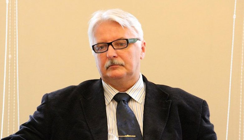 O ministro dos Negócios Estrangeiros da Polónia, Witold Waszczykowski