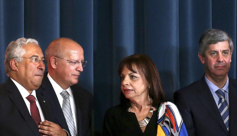 António Costa, Augusto Santos Silva, Maria Manuel Leitão Marques e Mário Centeno