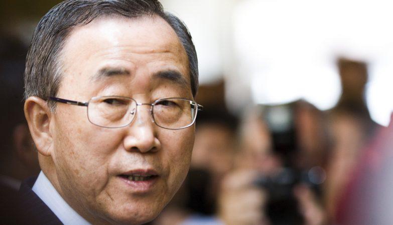 secretário-geral da Organização das Nações Unidas, Ban Ki-moon