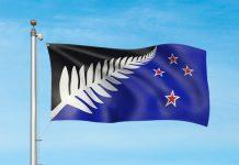 A bandeira alternativa da Nova Zelândia