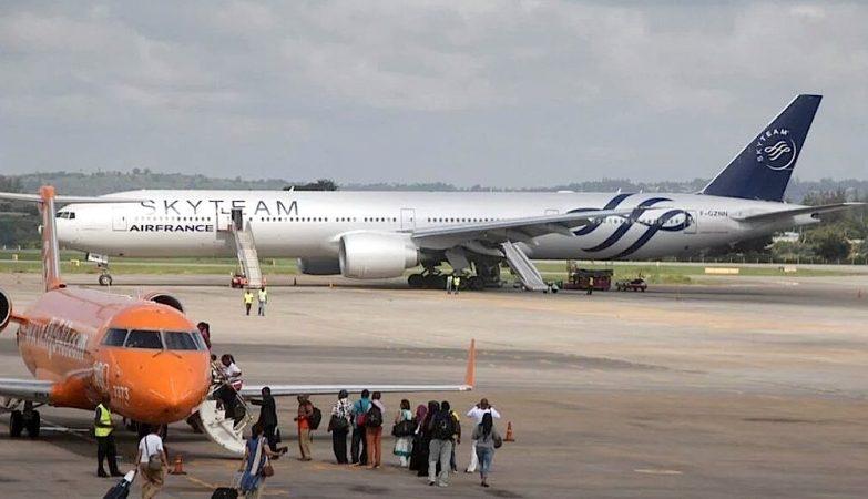 Boeing 777 da Air France desviado para o Quénia
