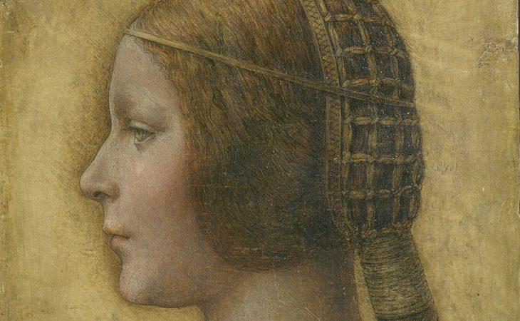 """""""La Bella Principessa"""", de Leonardo da Vinci"""