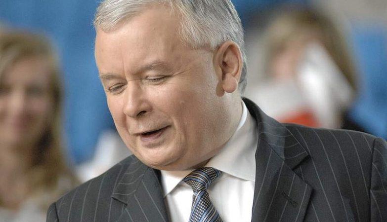 O presidente da Polónia, Jaroslaw Kaczynski