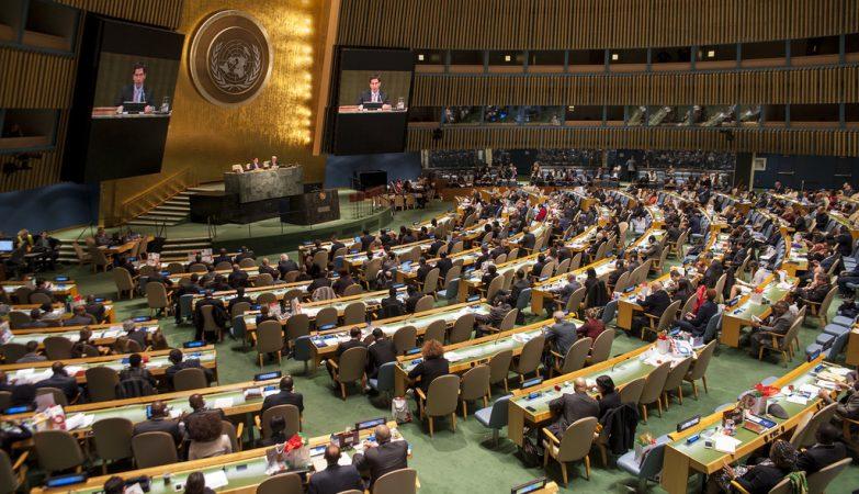 Assembleia Geral da ONU, Organização das Nações Unidas
