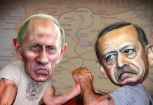 O derrube de um caça russo e a compra de petróleo ao Estado Islâmico na base de um braço de ferro entre a  Rússia de Vladimir Putin e a Turquia de Recep Tayyip Erdogan