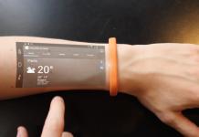 A Cicret Bracelet transforma o seu braço num ecrã interactivo