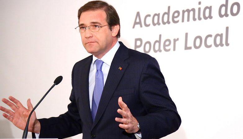 Passos Coelho na Guarda, na II edição da Academia do Poder Local, organizada pelos Autarcas Social Democratas