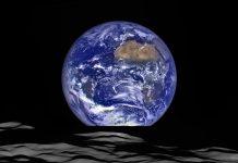 Earthrise 2015, o Nascer da Terra visto da Lua pelo Lunar Reconnaissance Orbiter
