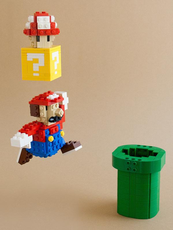 Mario Bits, por Tiago Catarino