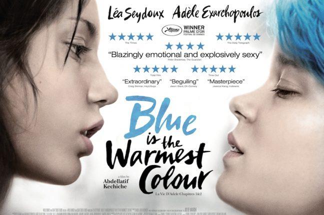 Léa Seydoux e Adèle Exarchopoulos, Azul é a cor mais quente