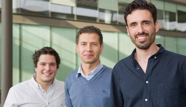 Kelwin Fernandes, Paulo Cortez e Pedro Vinagre, investigadores do INESC TEC