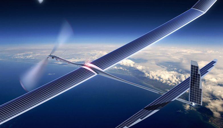O Project Skybender está a testar drones solares, com 50m de envergadura, desenvolvidos pela Google Titan - empresa formada após a aquisição da startup Titan Aerospace em 2014