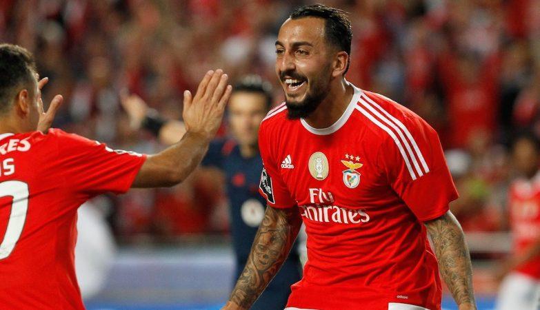 Benfica 0 - 0 Wolfsburgo (1.ª parte)