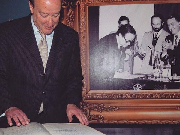 23 de Abril de 1982. Jorge Nuno Pinto da Costa toma posse como presidente do FC Porto.
