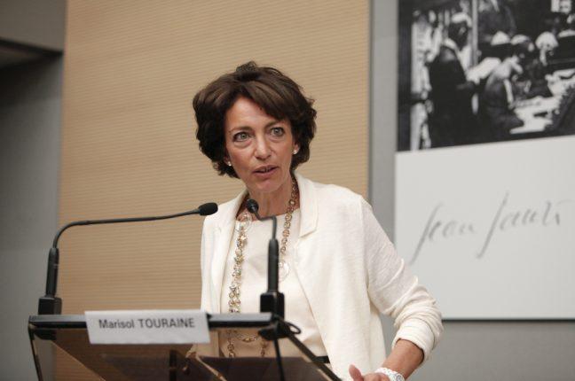 Marisol Touraine, ministra da Saúde francesa