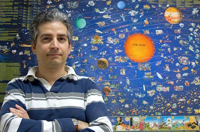 O físico Alexandre Correia, investigador da Universidade de Aveiro