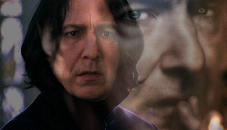 Alan Rickman entrou na pele do personagem Severus Snape nos filmes da saga Harry Potter