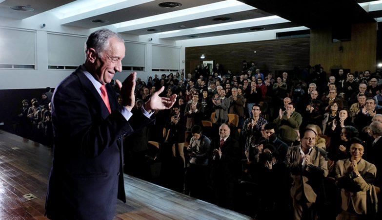 O novo presidente da República, Marcelo Rebelo de Sousa