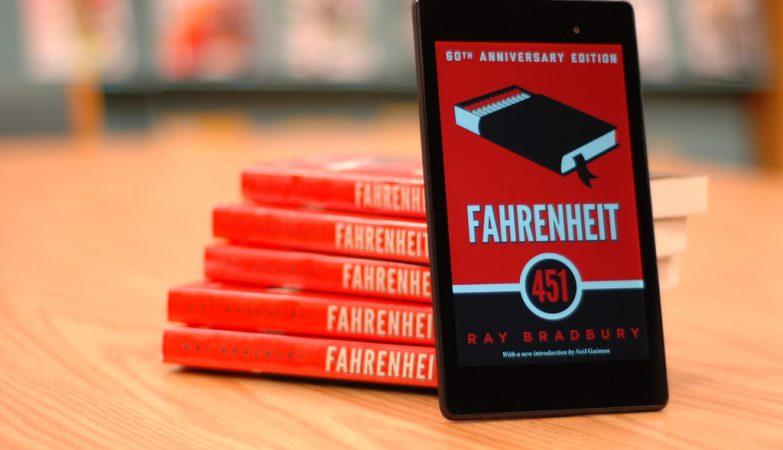 Fahrenheit 451 insprou a escolha do novo código de erro da Internet