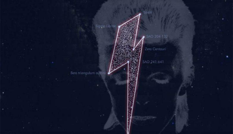 Constelação David Bowie