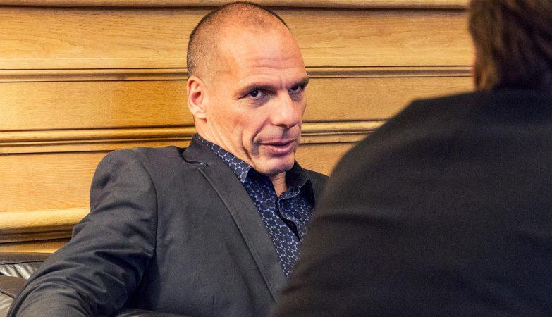O ex-ministro das Finanças da Grécia, Yanis Varoufakis