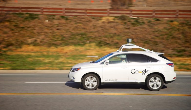 Carro autónomo da Google