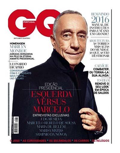 Marcelo Rebelo de Sousa na GQ