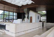 A Capelinha das Aparições, no Santuário de Fátima